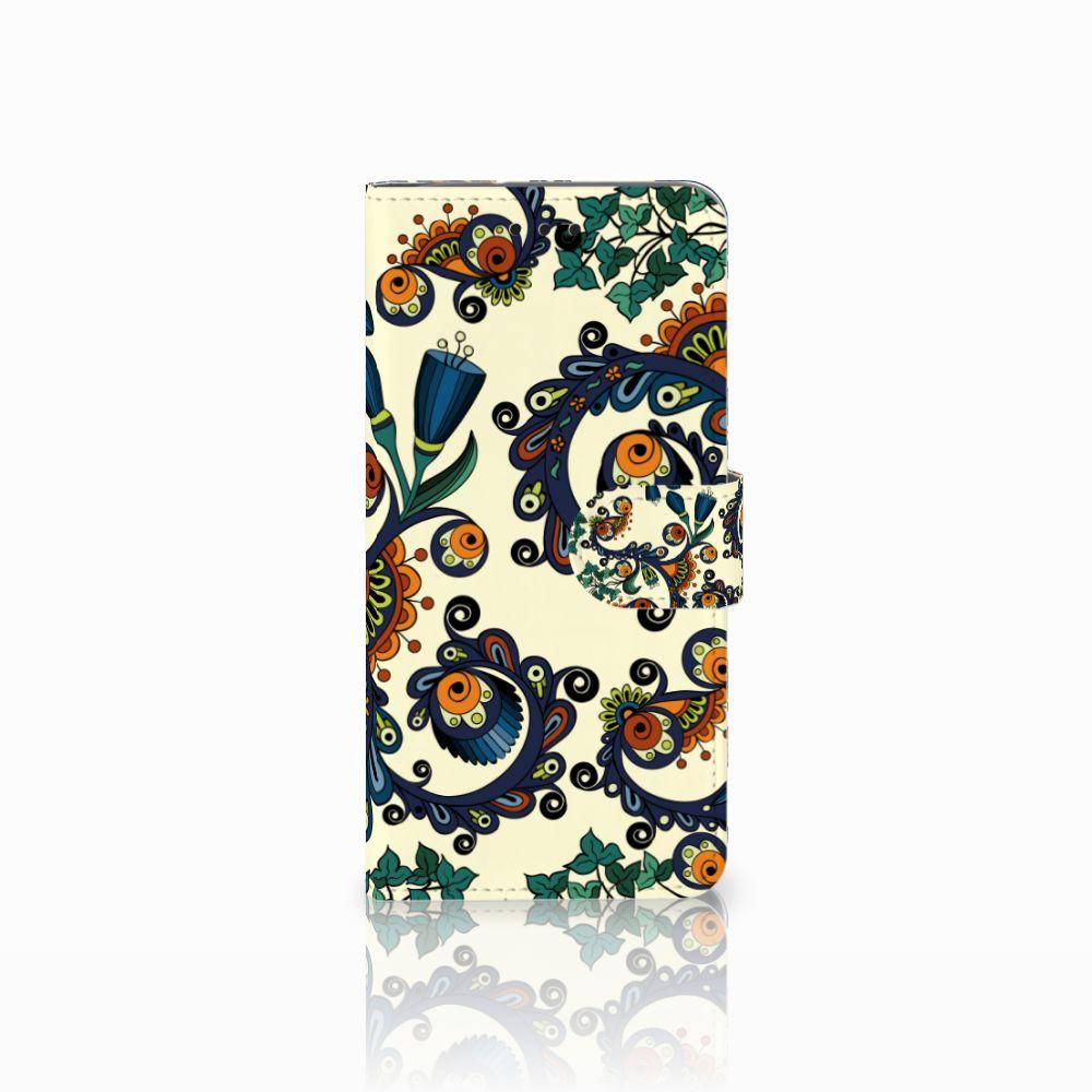 Motorola Moto G6 Boekhoesje Design Barok Flower