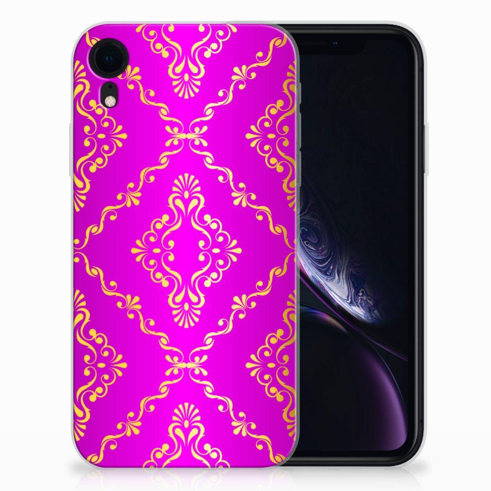 Siliconen Hoesje Apple iPhone Xr Barok Roze