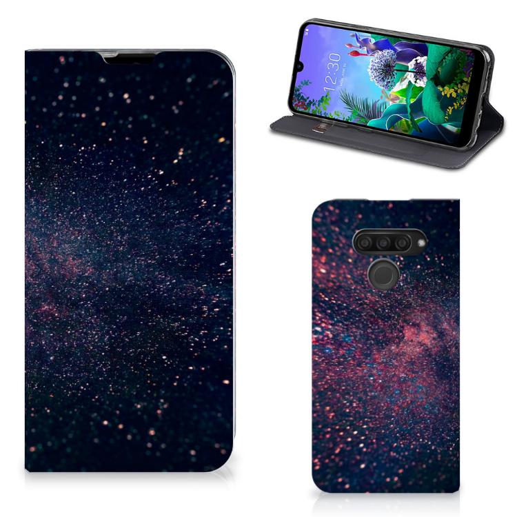 LG Q60 Stand Case Stars