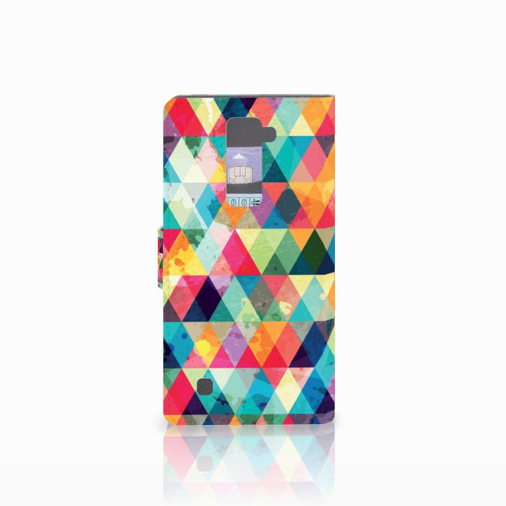 LG K10 2015 Telefoon Hoesje Geruit