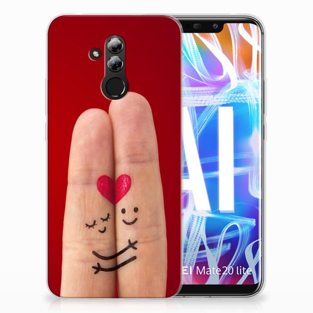 Huawei Mate 20 Lite Uniek TPU Hoesje Liefde