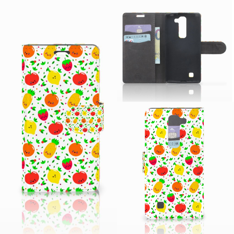 LG Magna | G4C Book Cover Fruits
