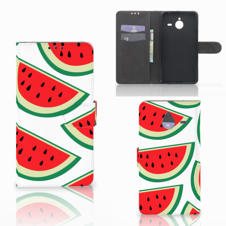Microsoft Lumia 640 XL Book Cover Watermelons