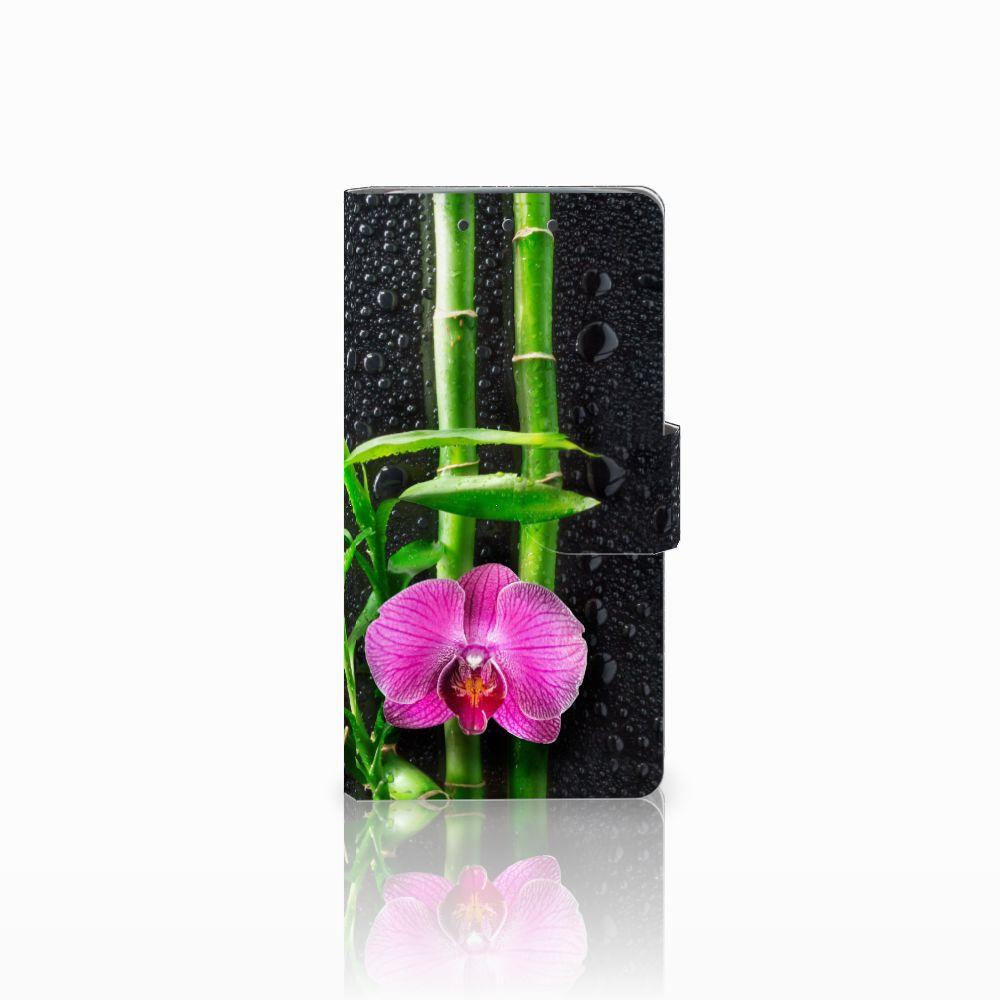 HTC One M7 Boekhoesje Design Orchidee