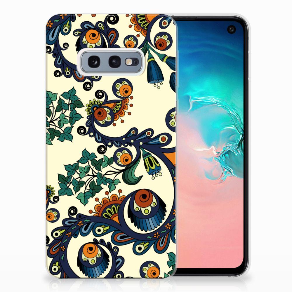 Samsung Galaxy S10e TPU Hoesje Design Barok Flower