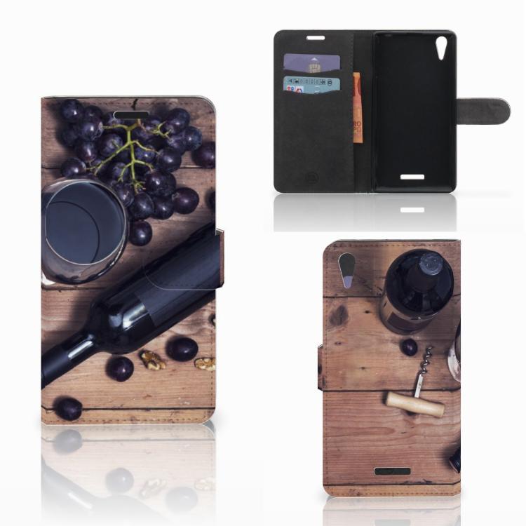 Sony Xperia T3 Book Cover Wijn