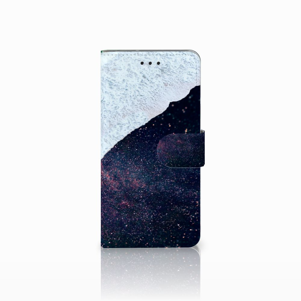 Motorola Moto G6 Bookcase Sea in Space