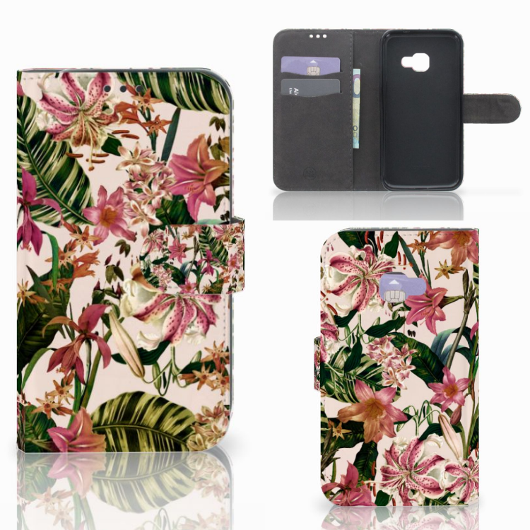 Samsung Galaxy Xcover 4 | Xcover 4s Hoesje Flowers