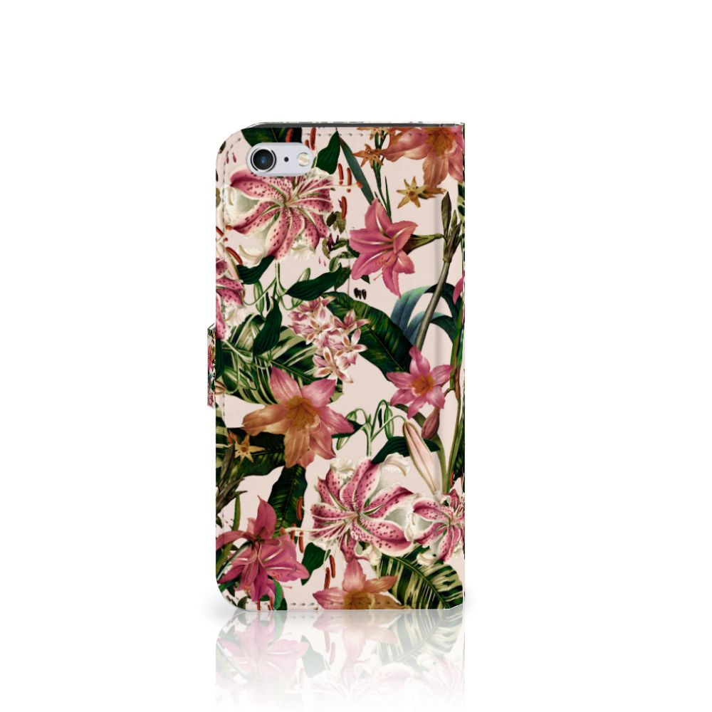 Apple iPhone 6 Plus | 6s Plus Hoesje Flowers