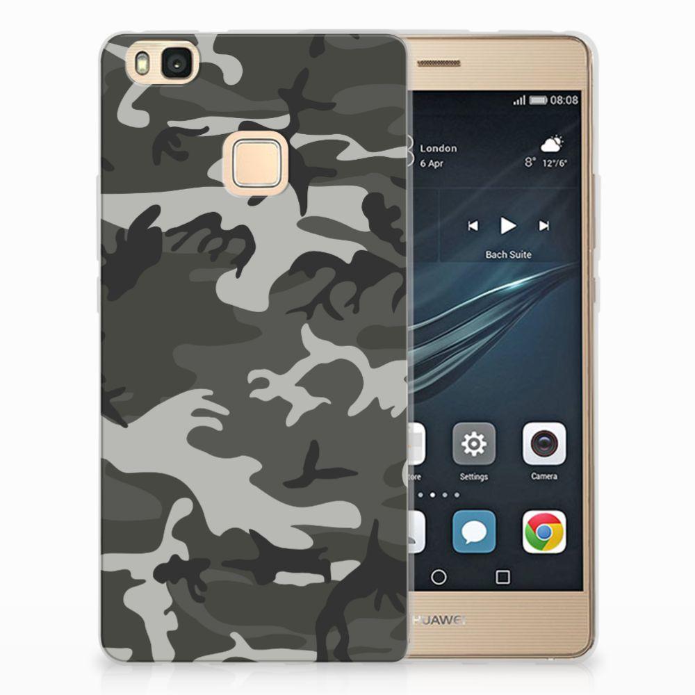 Huawei P9 Lite Uniek TPU Hoesje Army Light