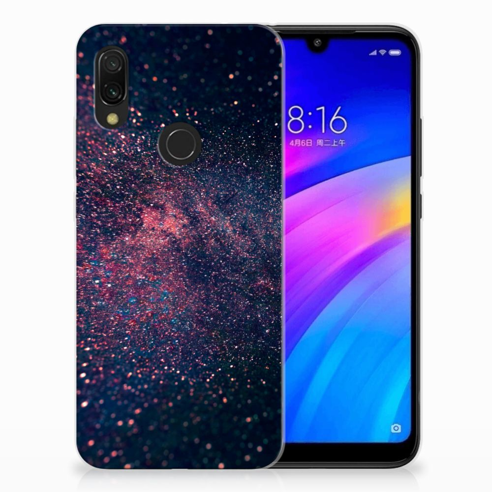 Xiaomi Redmi 7 TPU Hoesje Stars