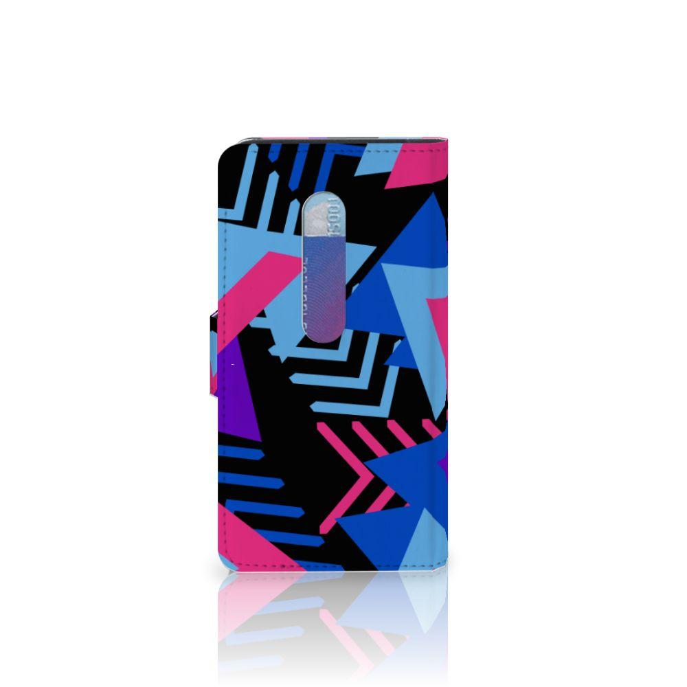 Motorola Moto G 3e Generatie Bookcase Funky Triangle