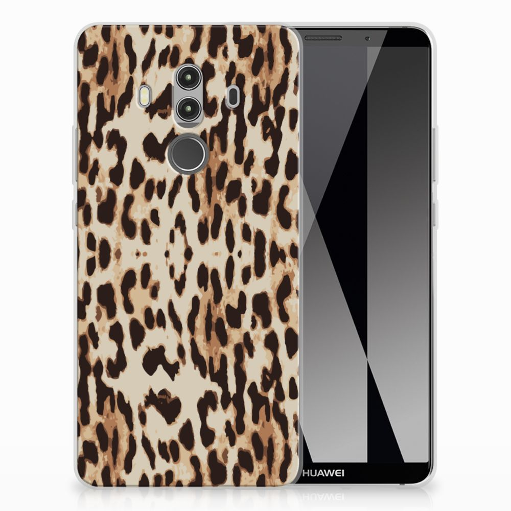 Huawei Mate 10 Pro Uniek TPU Hoesje Leopard