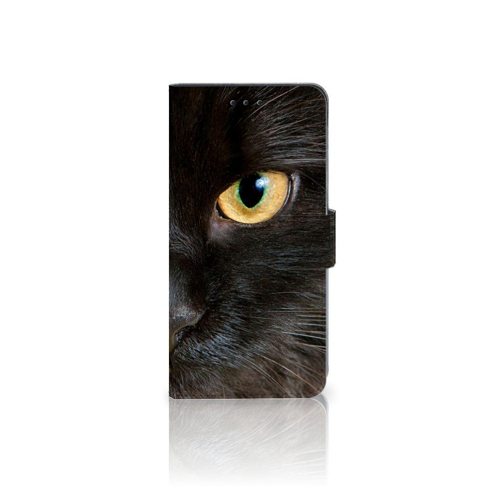 Huawei Mate 10 Pro Uniek Boekhoesje Zwarte Kat