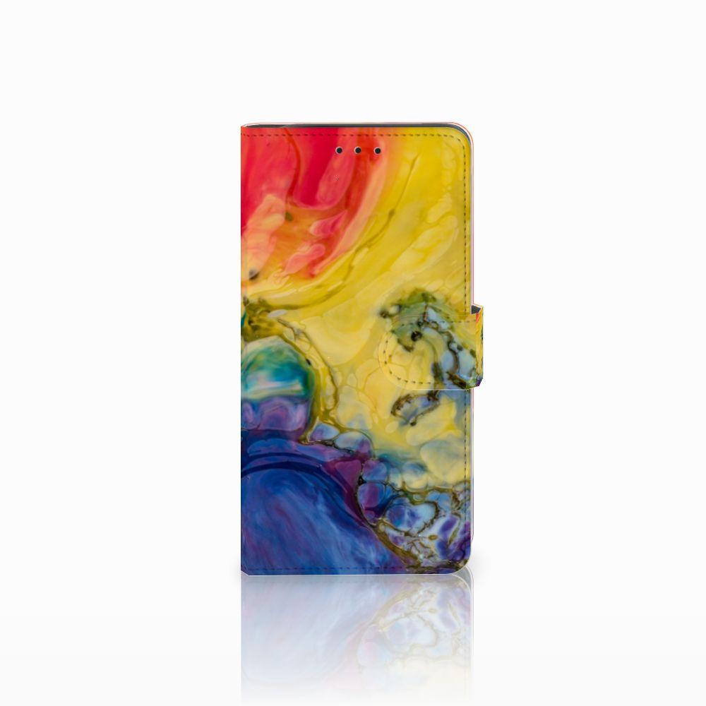 Hoesje Samsung Galaxy J6 Plus (2018) Watercolor Dark