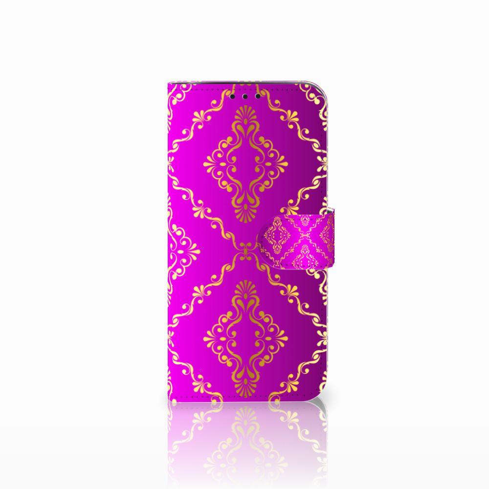 Xiaomi Pocophone F1 Uniek Boekhoesje Barok Roze