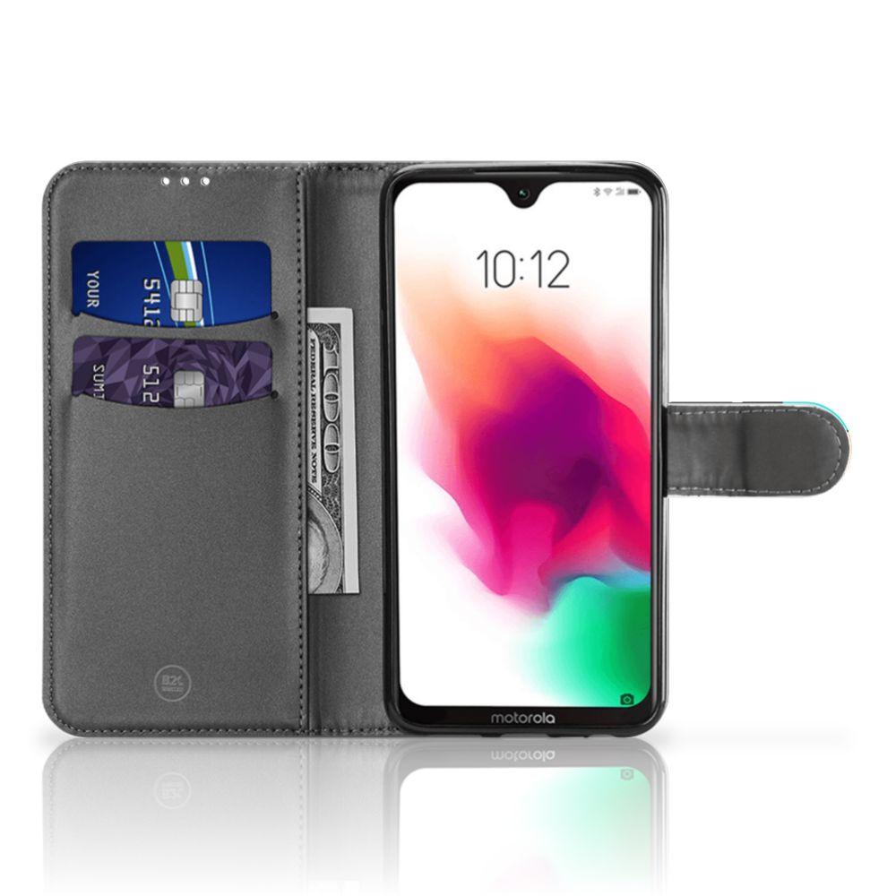 Motorola Moto G7 | G7 Plus Wallet Case met Pasjes Popart Oh Yes