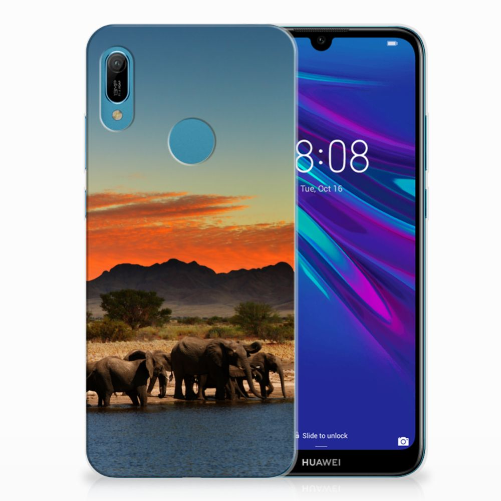 Huawei Y6 2019 | Y6 Pro 2019 TPU Hoesje Olifanten