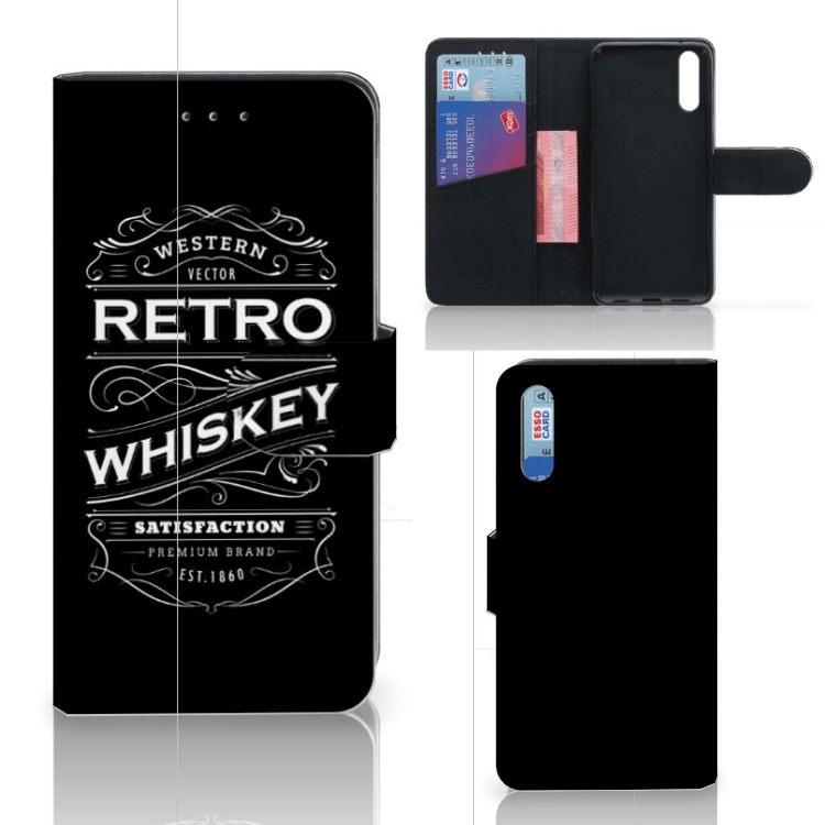 Huawei P20 Book Cover Whiskey