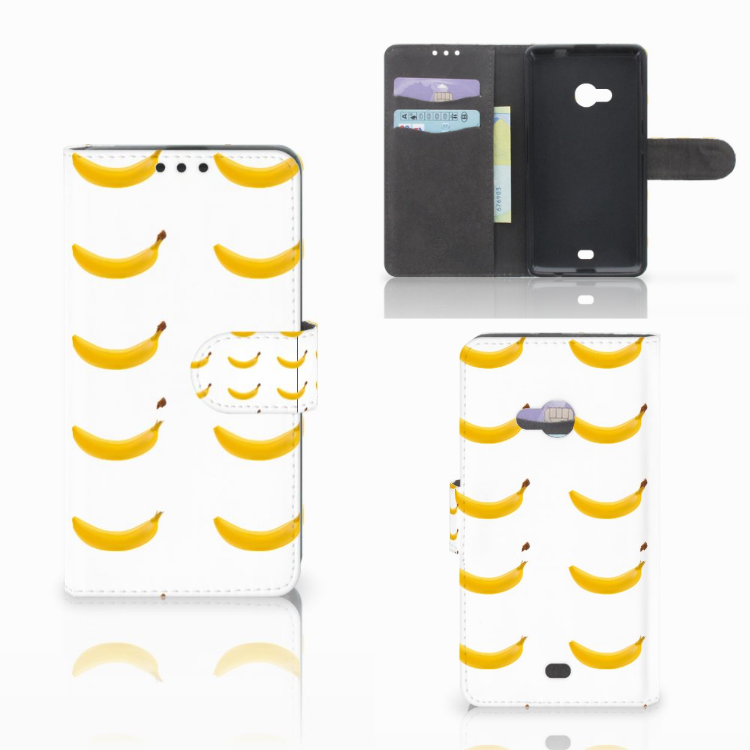 Microsoft Lumia 535 Book Cover Banana