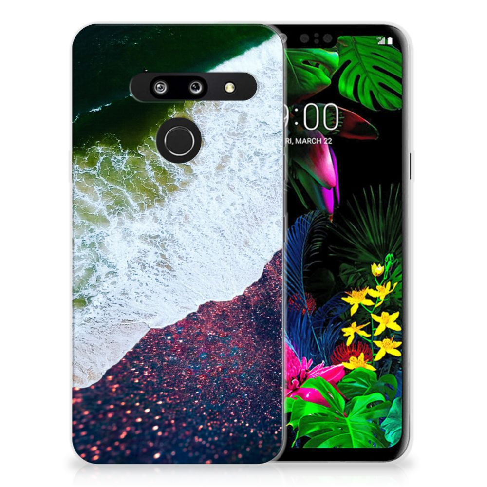 LG G8 Thinq TPU Hoesje Sea in Space