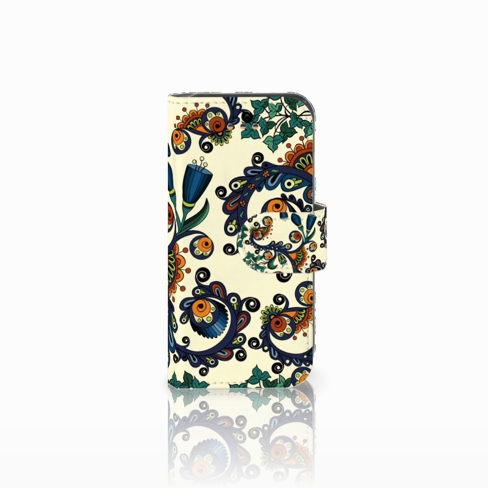 Apple iPhone 5C Boekhoesje Design Barok Flower