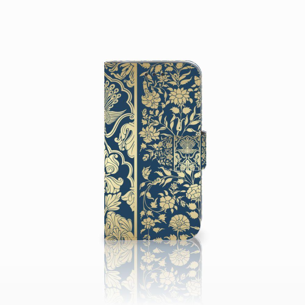 Samsung Galaxy Core Prime Boekhoesje Golden Flowers