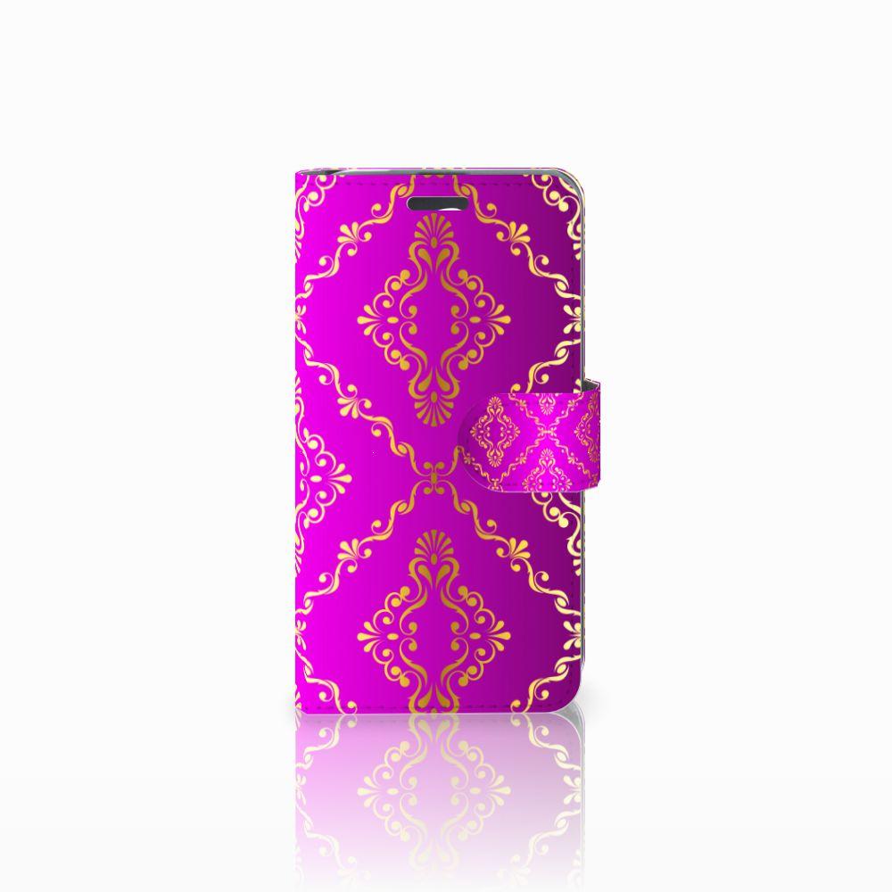 Acer Liquid Z520 Uniek Boekhoesje Barok Roze
