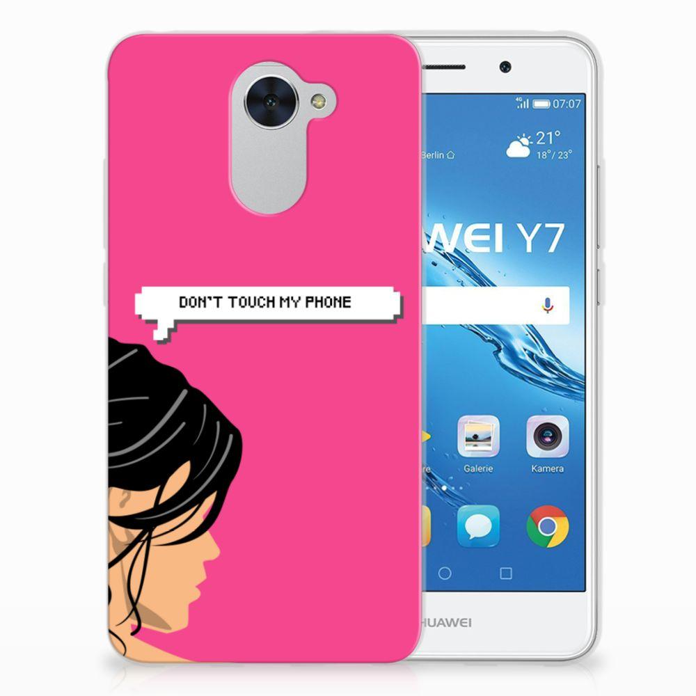 Huawei Y7 (2017) | Y7 Prime (2017) Uniek TPU Hoesje Woman DTMP