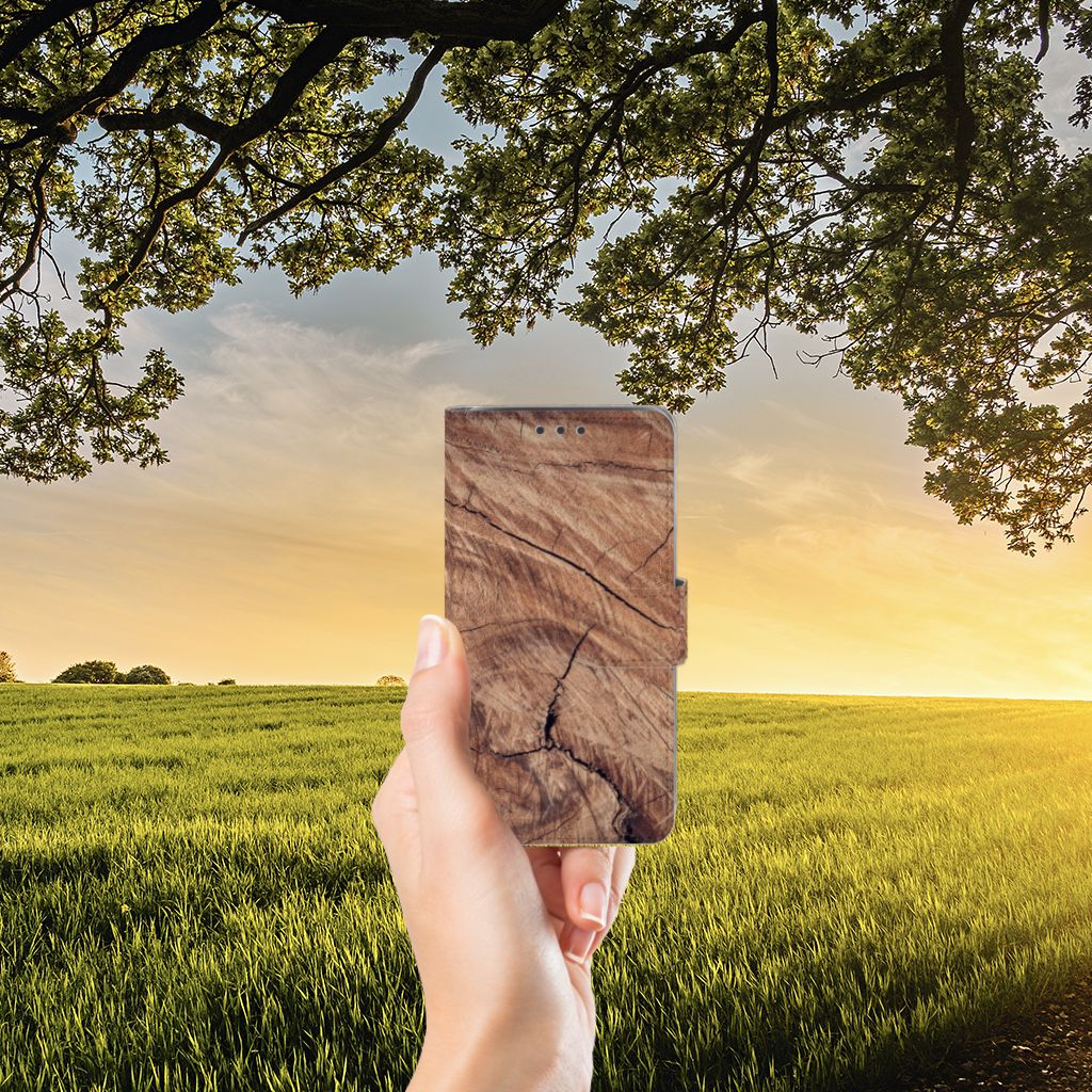 Samsung Galaxy J5 (2015) Boekhoesje Design Tree Trunk