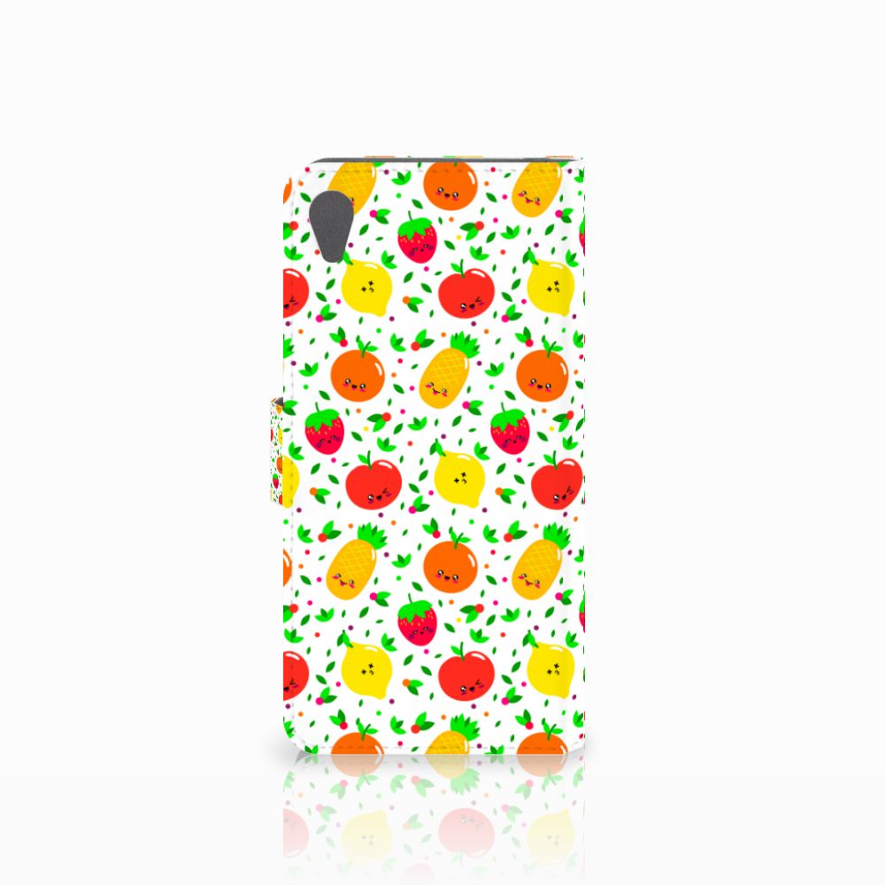 Sony Xperia Z5 Premium Book Cover Fruits