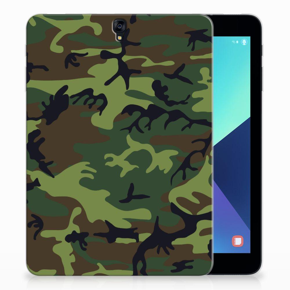 Samsung Galaxy Tab S3 9.7 Tablethoesje Design Army Dark