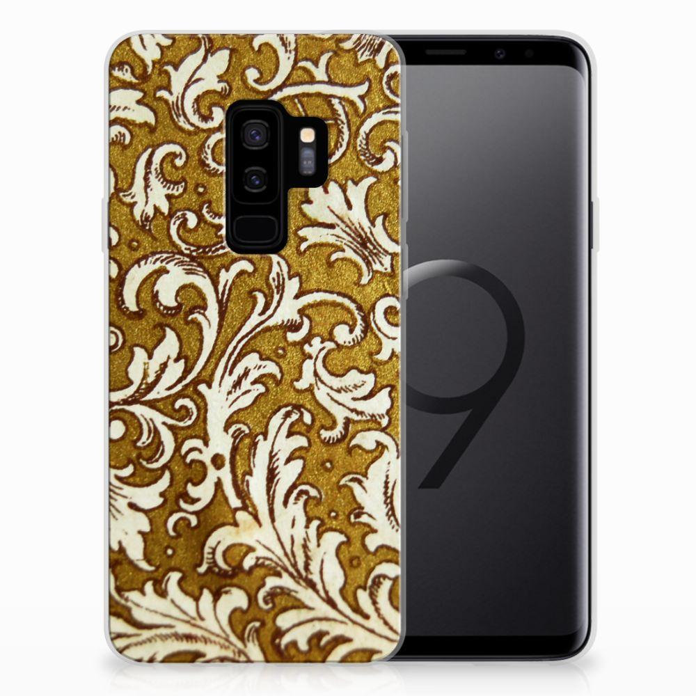 Siliconen Hoesje Samsung Galaxy S9 Plus Barok Goud