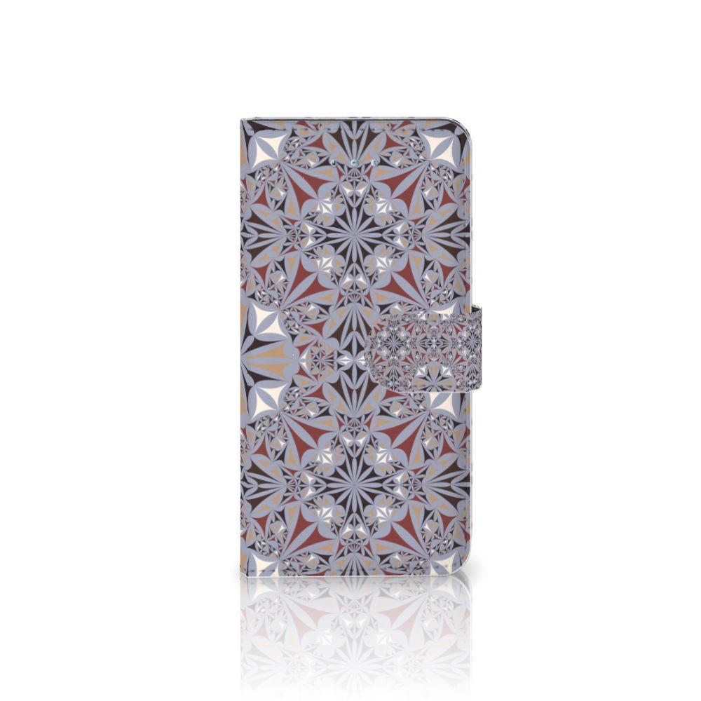 Honor 4A | Y6 Boekhoesje Design Flower Tiles