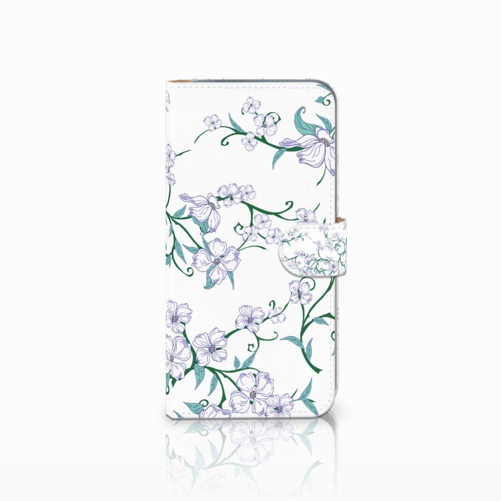 HTC Desire 10 Pro Uniek Boekhoesje Blossom White