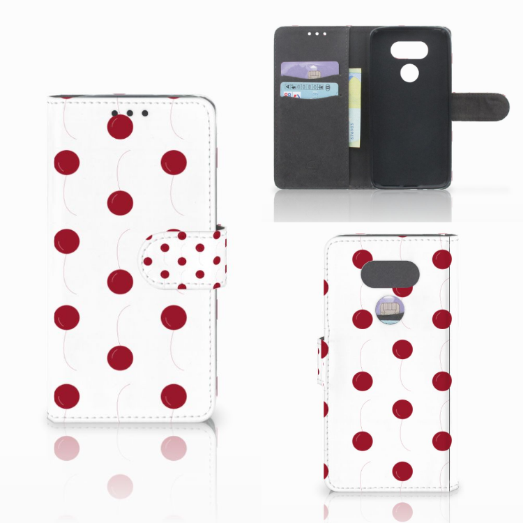 LG G5 Book Cover Cherries