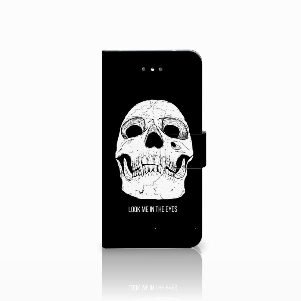 LG Nexus 5X Uniek Boekhoesje Skull Eyes
