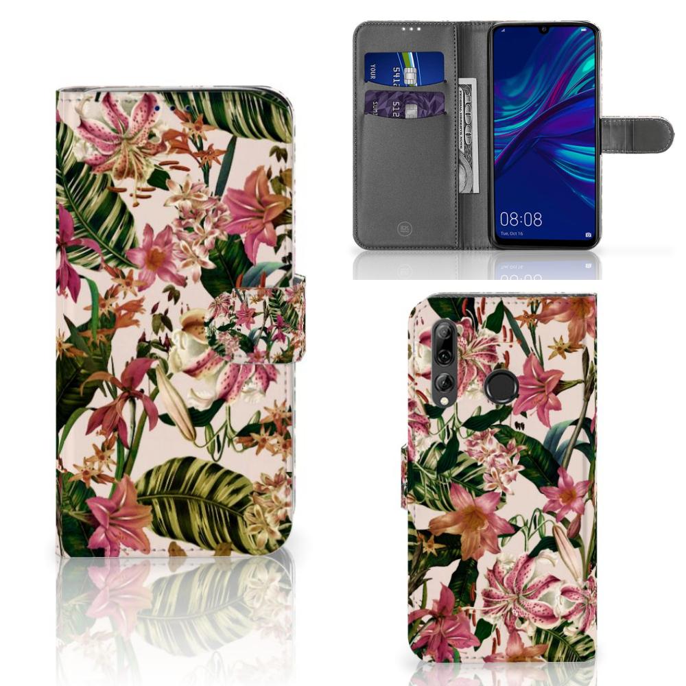 Huawei P Smart 2019 Hoesje Flowers