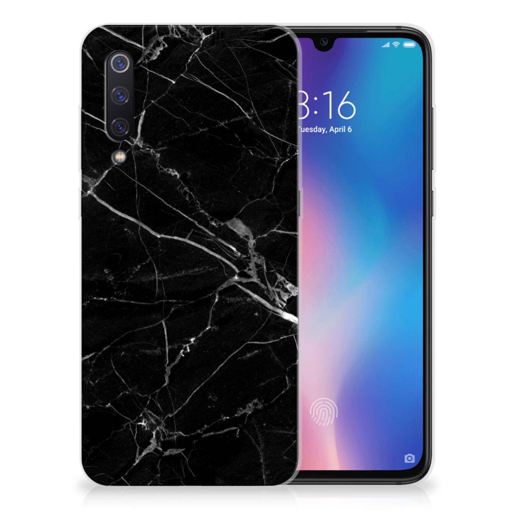 Xiaomi Mi 9 TPU Siliconen Hoesje Marmer Zwart