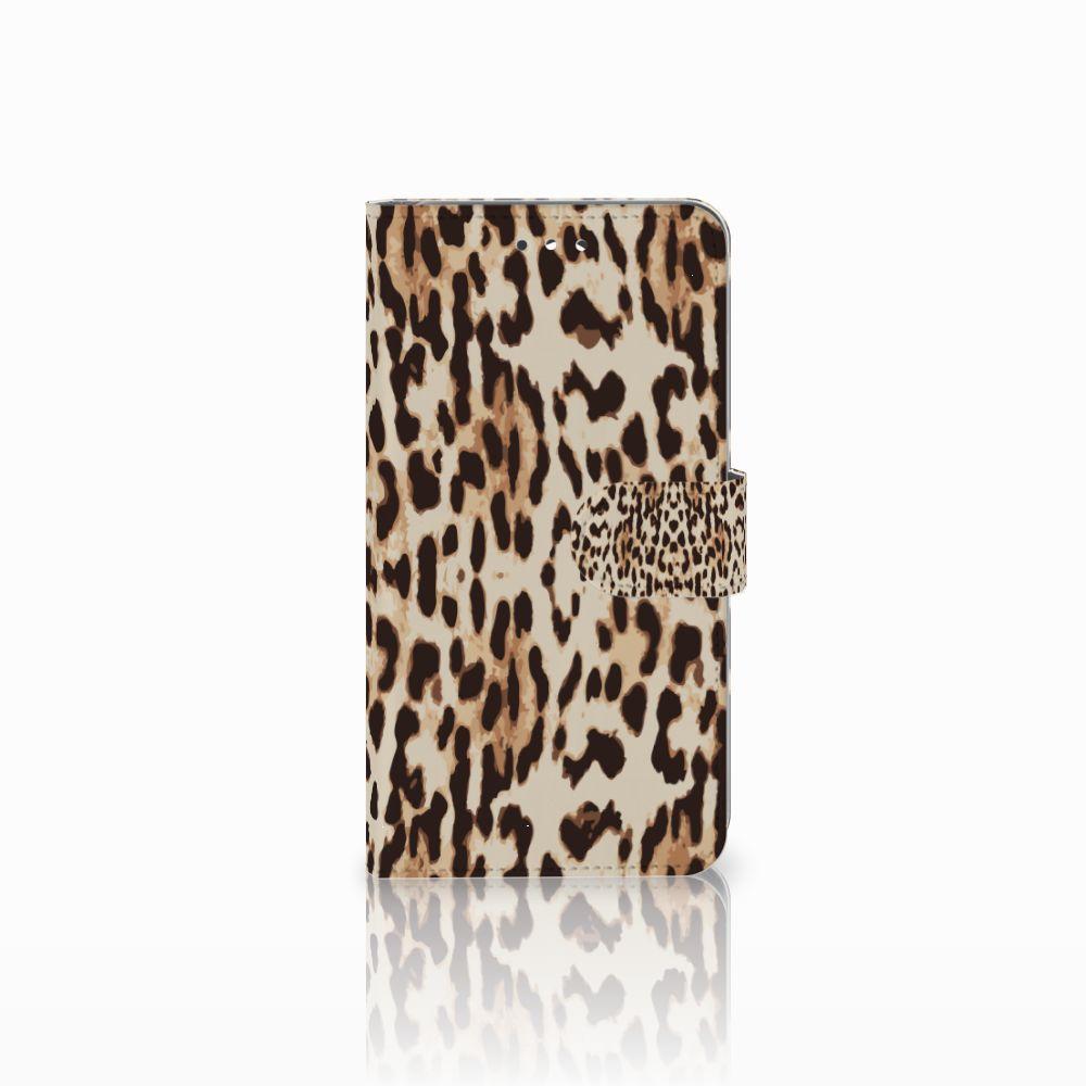 Huawei Y7 2017 | Y7 Prime 2017 Uniek Boekhoesje Leopard