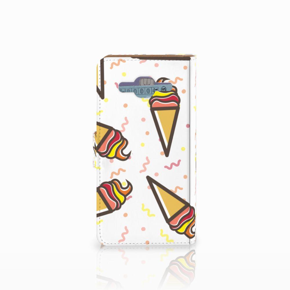 Samsung Galaxy J2 2016 Book Cover Icecream