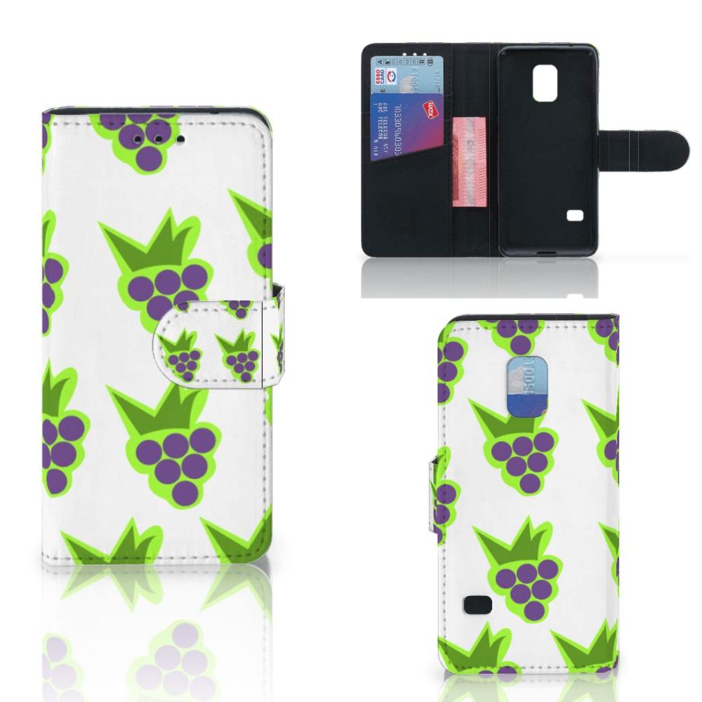 Samsung Galaxy S5 Mini Book Cover Druiven