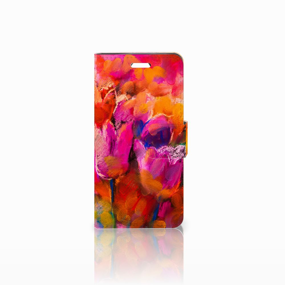 Acer Liquid Z330 Boekhoesje Design Tulips