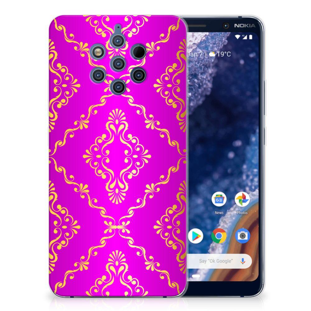 Siliconen Hoesje Nokia 9 PureView Barok Roze