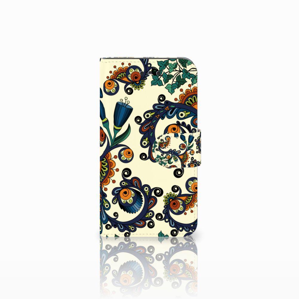 Nokia 1 Boekhoesje Design Barok Flower