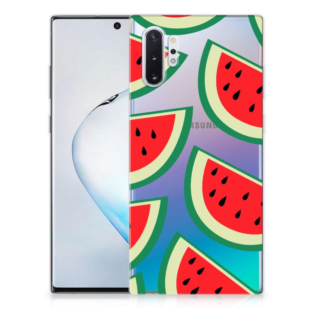 Samsung Galaxy Note 10 Plus Siliconen Case Watermelons