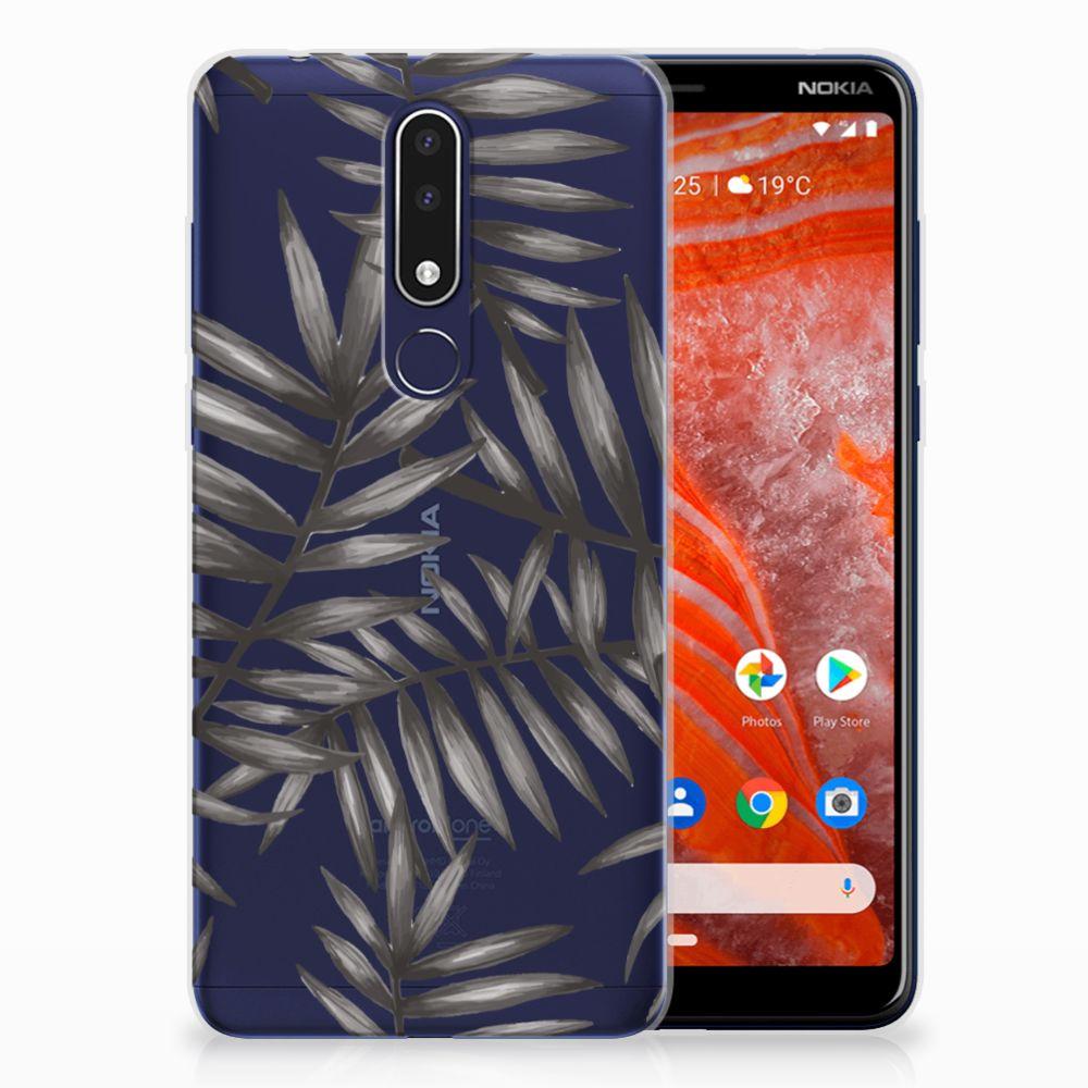 Nokia 3.1 Plus TPU Case Leaves Grey