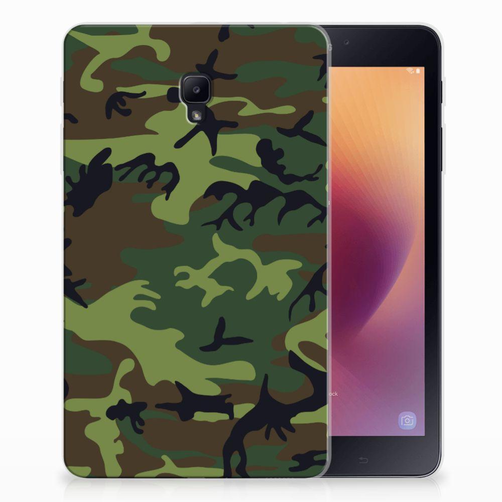Samsung Galaxy Tab A 8.0 (2017) Tablethoesje Design Army Dark