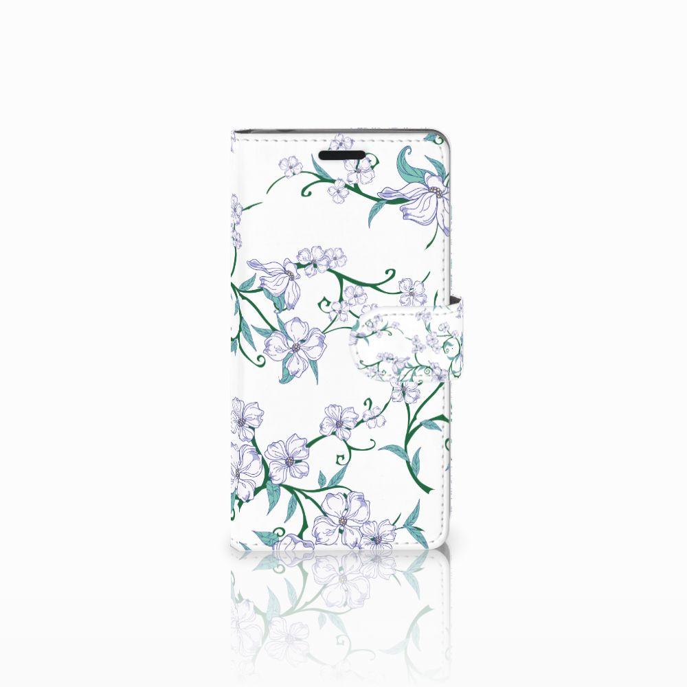 Sony Xperia E3 Uniek Boekhoesje Blossom White