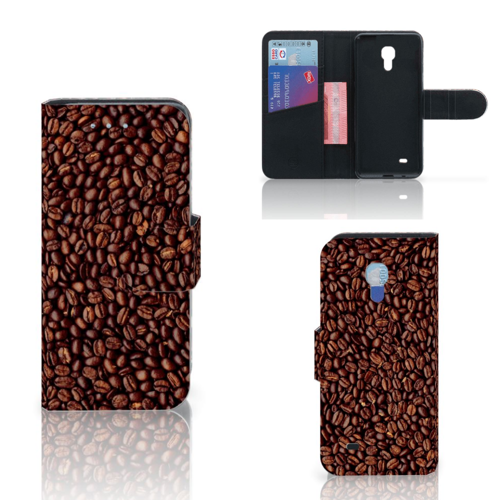 Samsung Galaxy S4 Mini i9190 Book Cover Koffiebonen